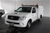 2010 Toyota Hilux SR KUN16R Turbo Diesel Manual Cab Chassis