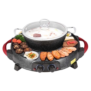 SOGA 2 in 1 Electric Stone Coated Teppan