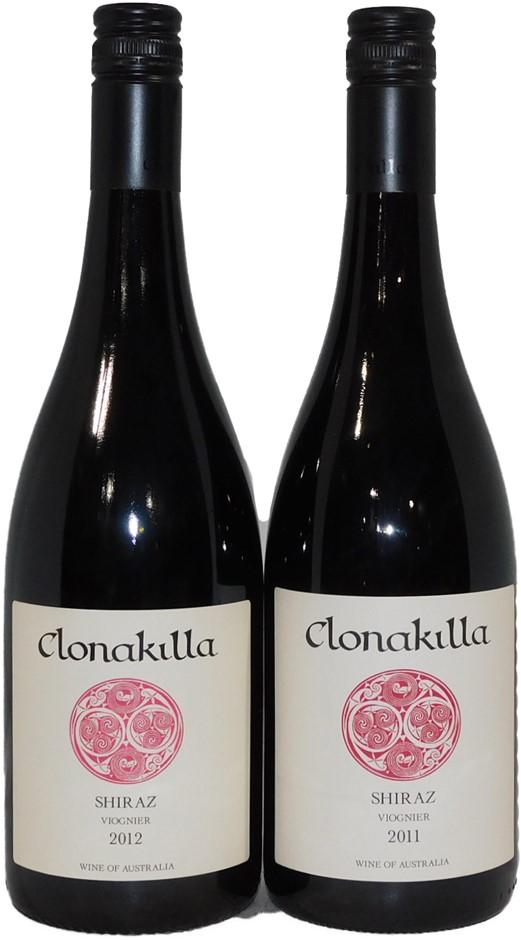 Mixed Clonakilla Shiraz Viognier 2011/2012 (2x 750mL), Canberra. Screwcap