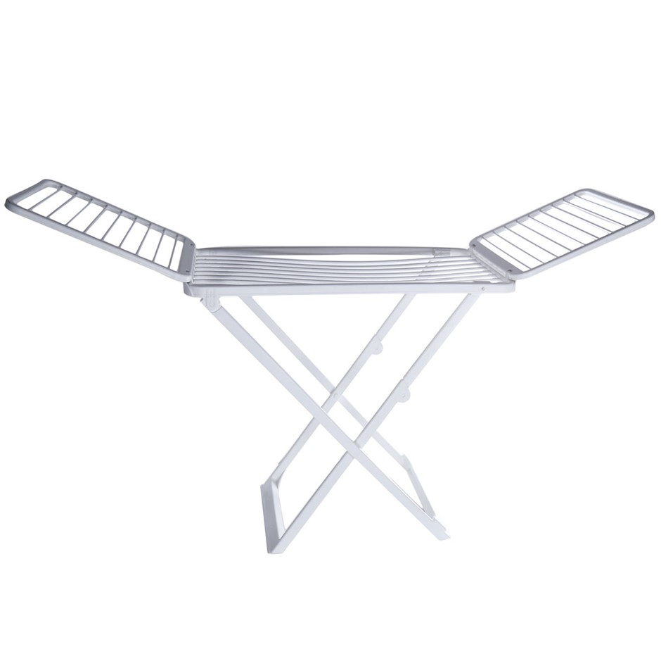 TRIO PLAST Foldable Clothes Drying Rack, Plastic Resin. Made in Italy. (SN:
