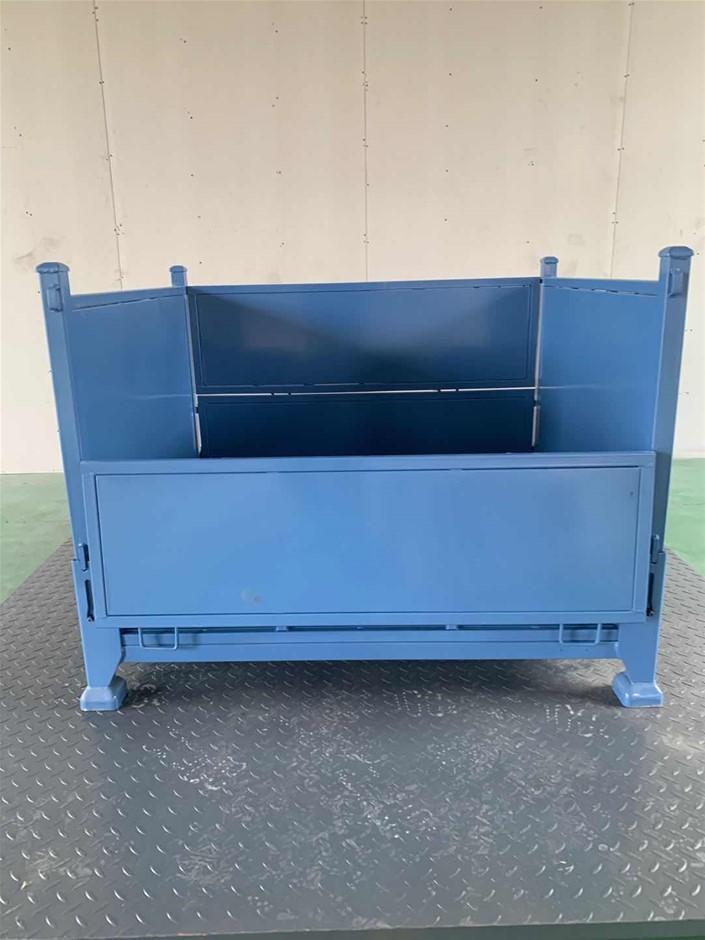 Foldable Bin (Blue)