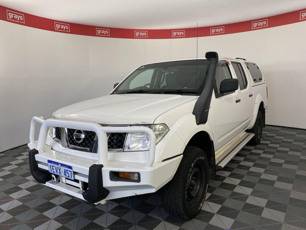 2011 Nissan Navara RX (4x4) D40 Turbo Diesel Automatic Dual Cab