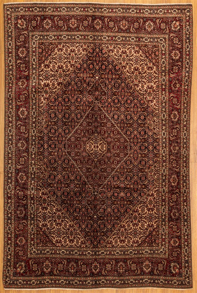Handwoven Pure Wool Fine Persian Tabriz Rug - Size 295cm x 195cm