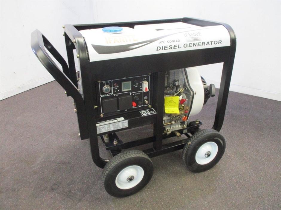Unused Ifanite IFB500E Diesel Generator