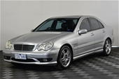 Unreserved 2003 Mercedes Benz C32 AMG W203