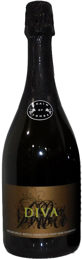 Chain Of Ponds Wines Diva Sparkling 2011 (1x 750mL) 5 Star Prov!