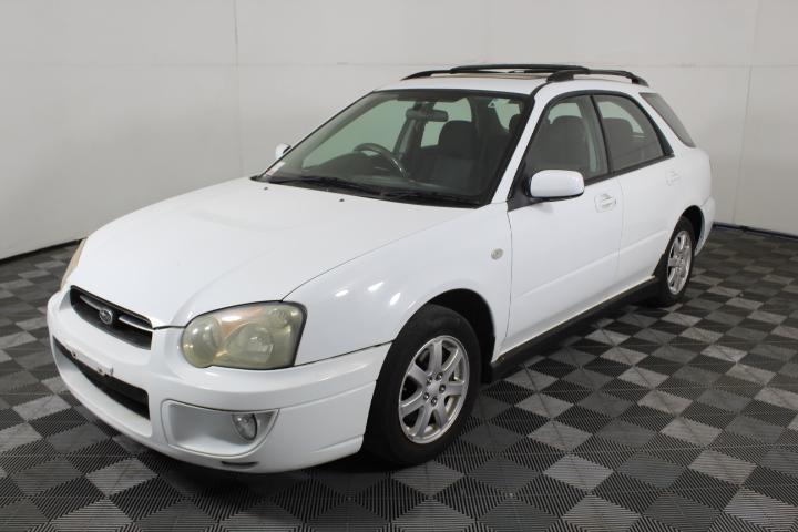 2002 Subaru Impreza RX (AWD) G2 Manual Hatchback