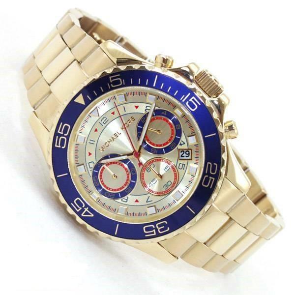 Stunning new Michael Kors Everest gold plated watch.