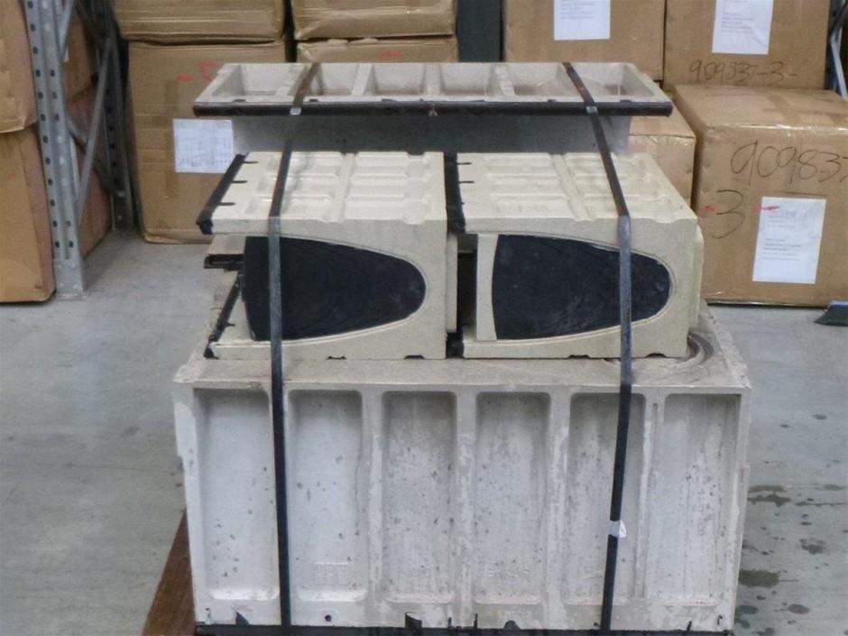 Pallet of Aco Concrete Drain Channels