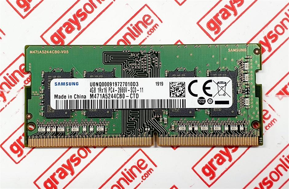 Samsung 4GB DDR4 PC4-2666V Sodimm 260pin Laptop Memory Module