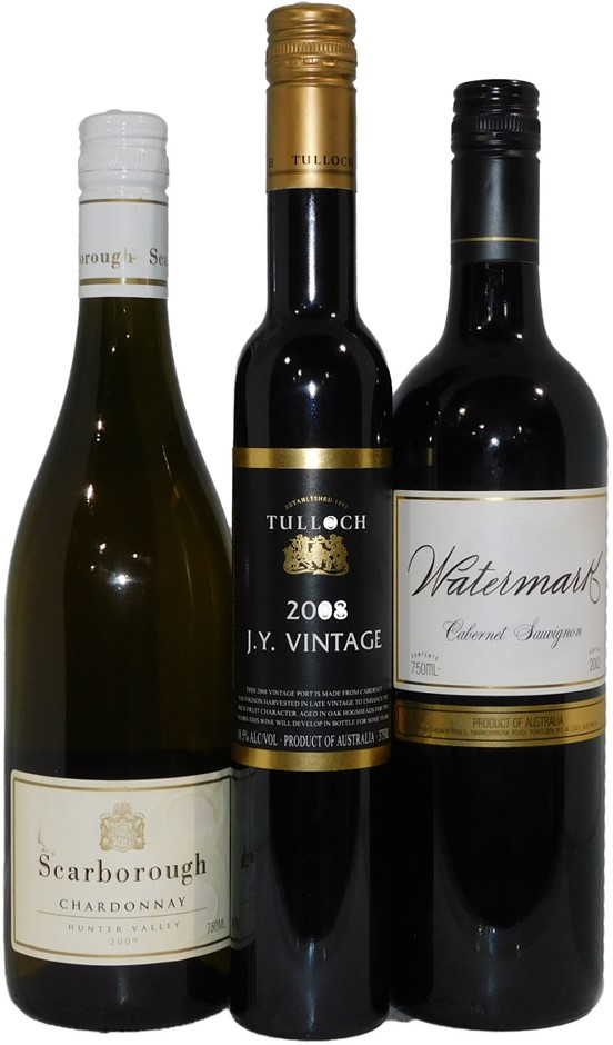 Mixed Pack of Hunter Valley Wine (3x 750mL), NSW