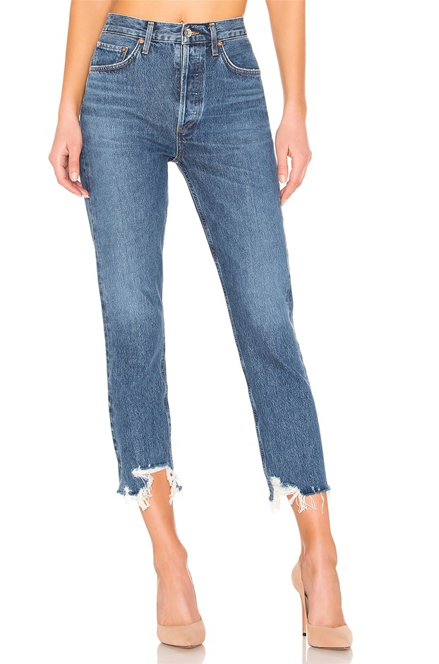AGOLDE Riley High Rise Straight Crop. Size 28, Colour: Veto. ORP: $319 Buye