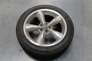 "Set of 4 ""Mustang"" Rims & Tyres"