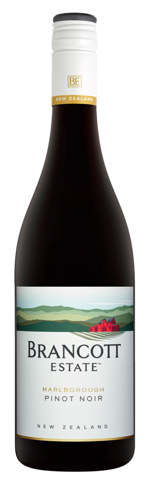Brancott Estate Pinot Noir 2018 (6 x 750mL),Marlborough, NZ.