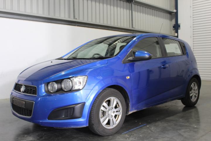 2012 Holden Barina TM Automatic Hatchback