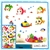 3 x Wall Decals - 6D Sea Creatures, 3 different designs