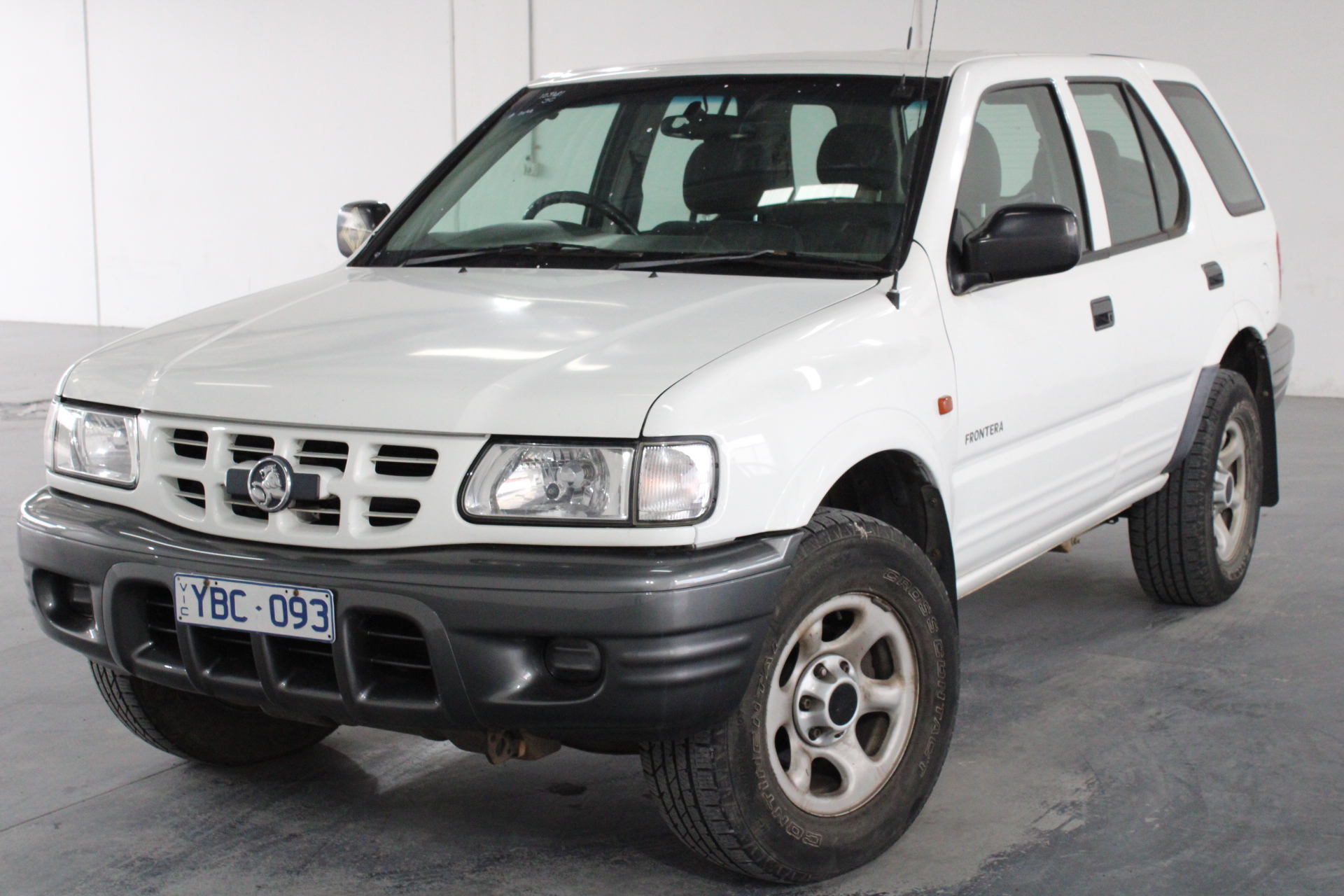 2002 Holden Frontera (4x4) Automatic Wagon