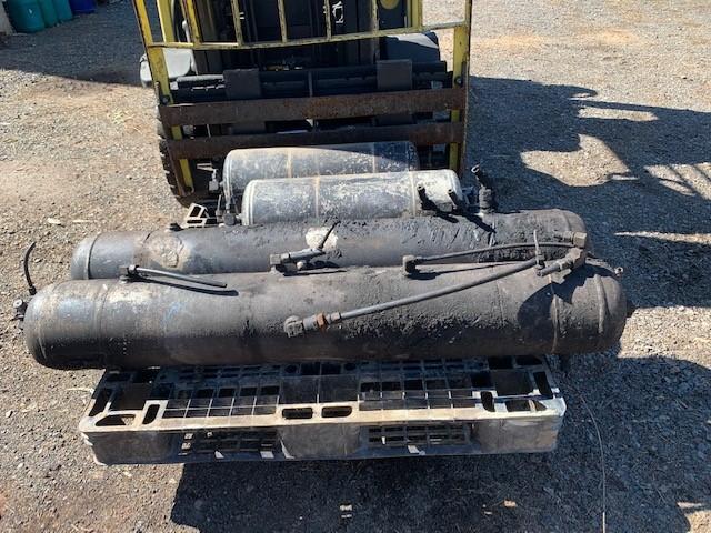 Pallet of Truck Air Tanks