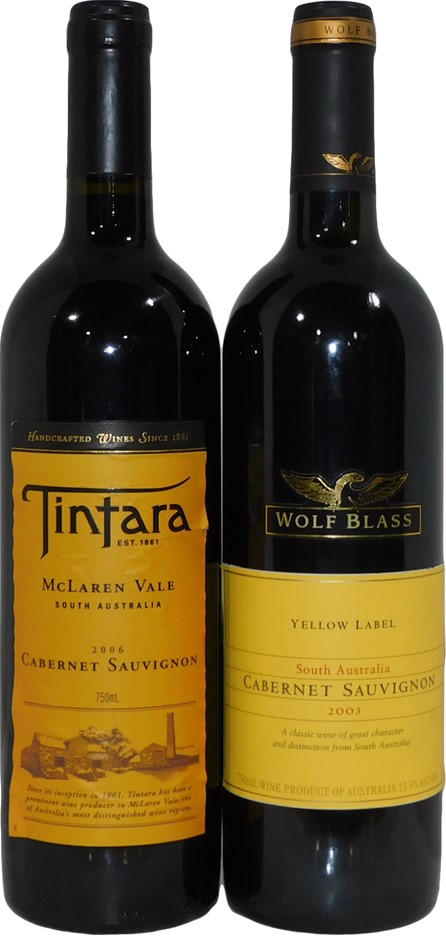 South Australian Cabernet Sauvignon Mixed Pack (2x 750mL), SA, Cork Closure