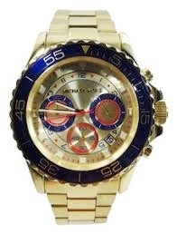 Michael Kors Couture NY mens 'Everest' distinctive chronograph watch
