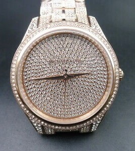 Ladies stunning new gold plated Michael Kors Couture NY 'Lauryn' watch