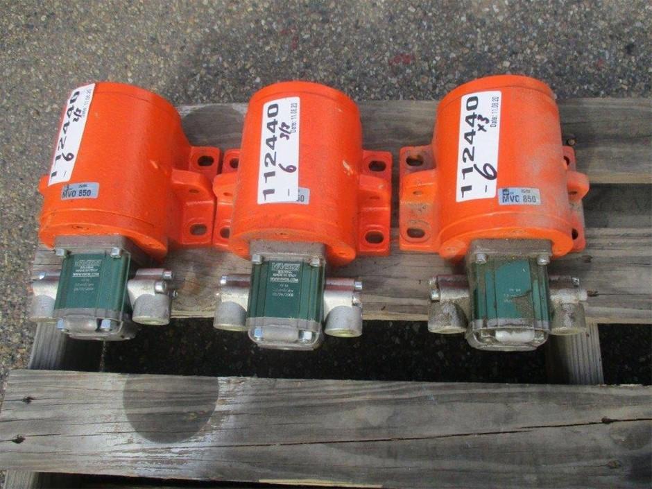 Qty 3 x ViVolo Hydraulic Vibe Motors