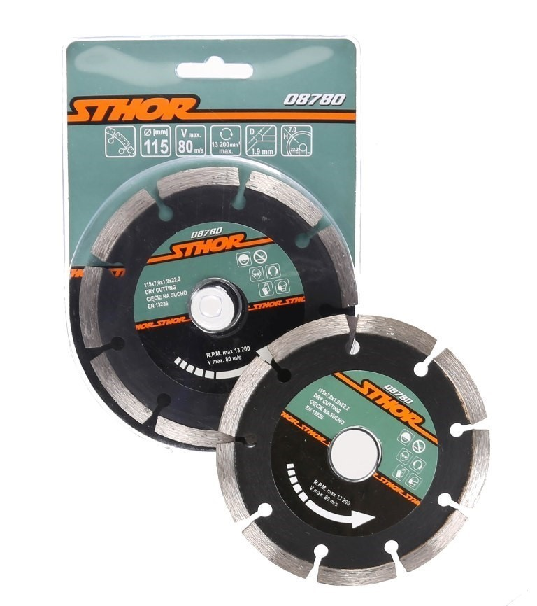 5 x Diamond Saw Blades 115mm. Buyers Note - Discount Freight Rates Apply to