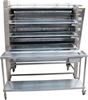 <Strong>RADIANT GAS T5 CHICKEN ROTISSERIE WITH RADIANT GENUINE TROLLEY, QUA