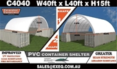 Unused Container Shelters - Toowoomba