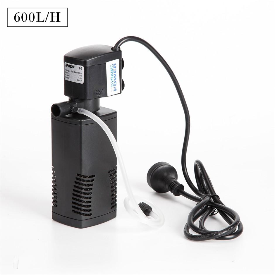 600L/H 8W 1m Aquarium Submersible Filter Pond Pump