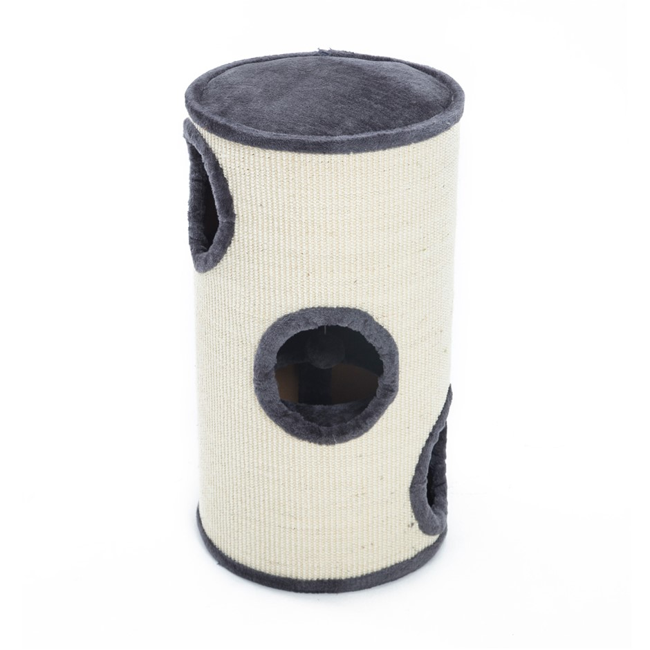 Cat Tree Scratcher TUBU 70cm - GREY