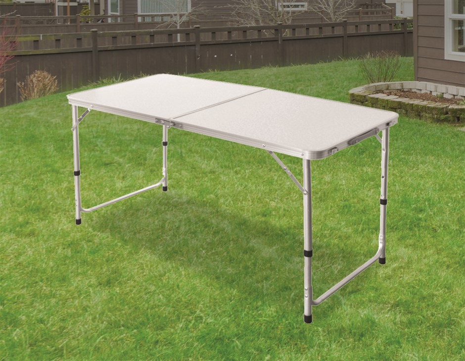 Aluminium Folding Table 120cm Portable Indoor Outdoor Camping Tables
