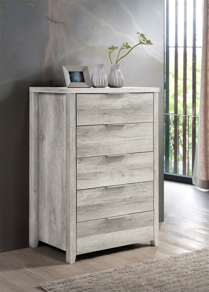Traditional elegance meets modern charm with the Alice Tallboy.