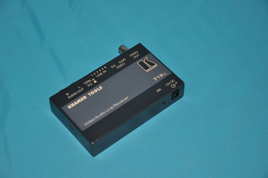 Kramer 712XL Video/Audio Line Receiver