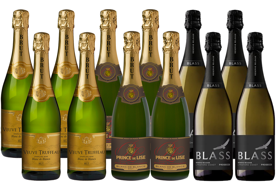 Mixed Bubbles Pack (12x 750mL)