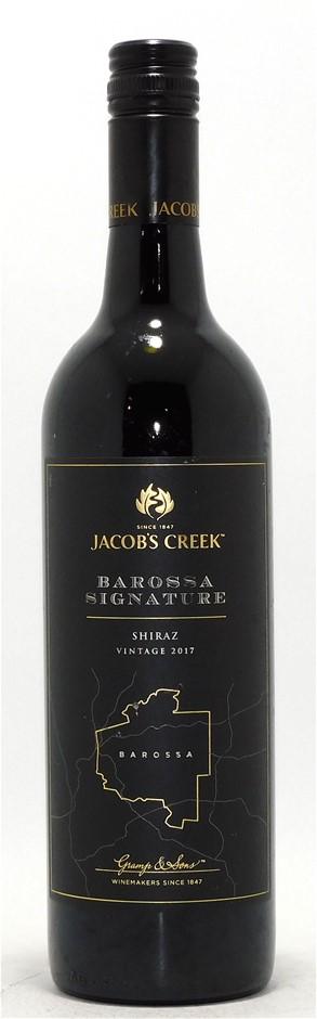 Jacob`s Creek Signature Series Shiraz 2017 (6x 750mL) Barossa Valley, SA