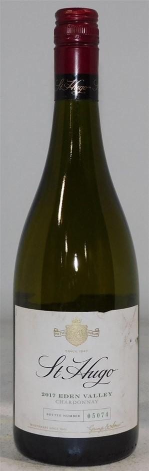 St Hugo Eden Valley Chardonnay 2017 (4x 750mL) SA