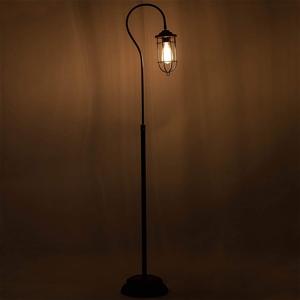 Industrial Floor Lamp with Adjustable Ca