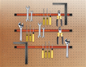 3 x 61cm Magnetic Wall Mounted Tool Hold