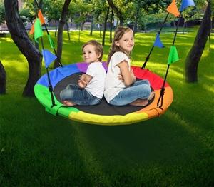 1m Tree Swing in Multi-Color Rainbow Kid