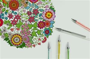 Glitter Gel Pens (100 pack) w/ 2.5X More