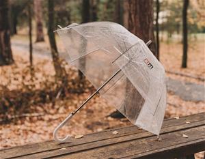 5x Clear Transparent Rain Walking Umbrel