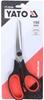 3 x YATO 190mm Stainless Steel Scissors. Buyers Note - Discount Freight Rat