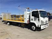 2015 Isuzu FRR 500 Long 4 x 2 Beavertail Truck