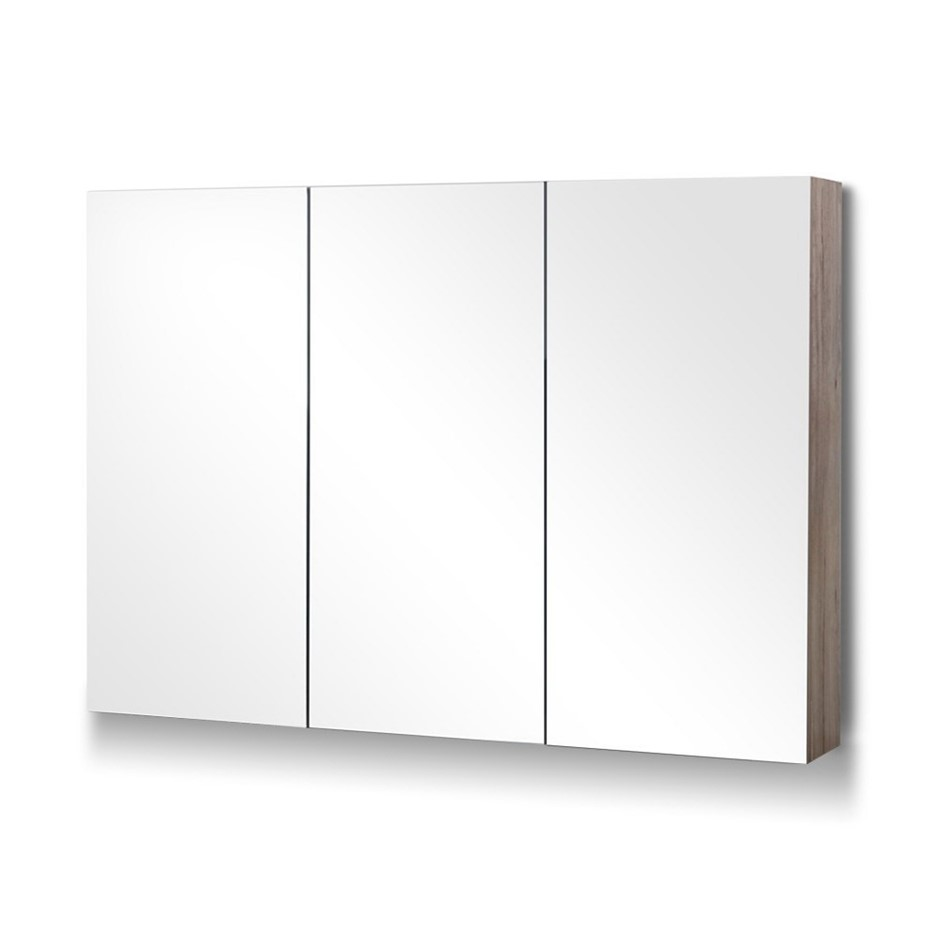 Cefito 1200MMx720MM Bathroom Vanity Mirror Cabinet Shaving Pencil Edge