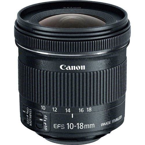 CANON EFS 10-18mm f/4.5-5.6 IS STM Image Stabilizer Lens. Buyers Note - Dis