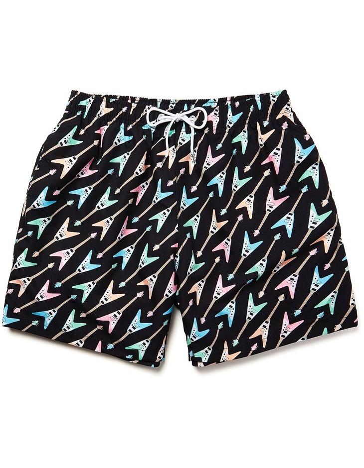 BOARDIES APPAREL Boardies Flying V`s Mid Length Swim Shorts. Size XL, Colou