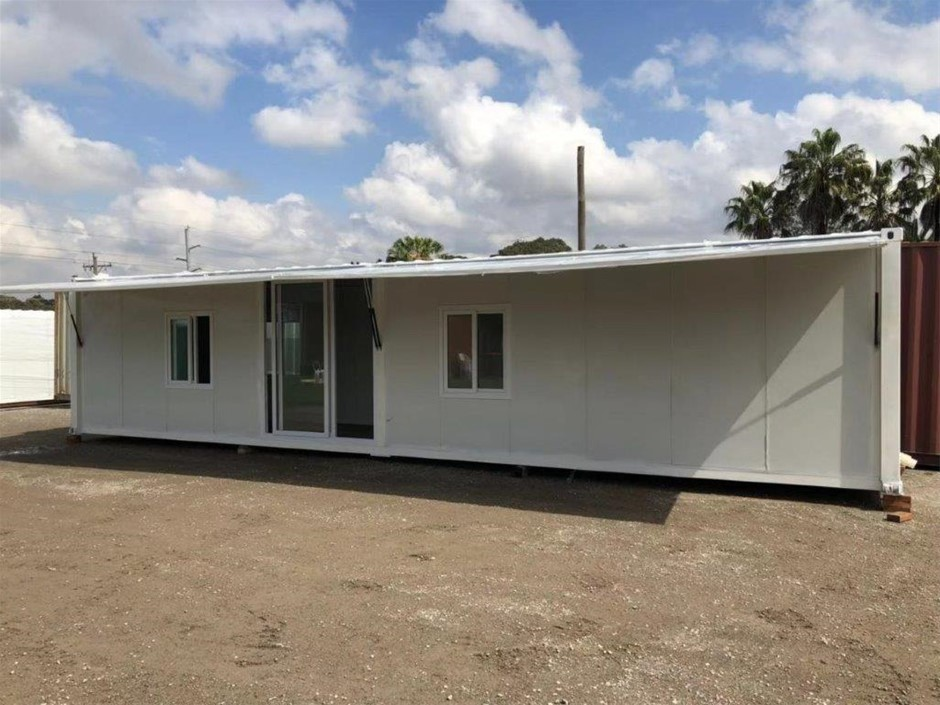 Unused Container Home /Portable Building /Office / Site Shed with Awning