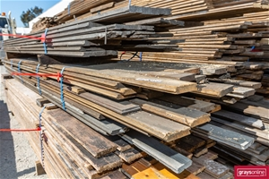 1x Pack of Assorted Recycled Timber Floo