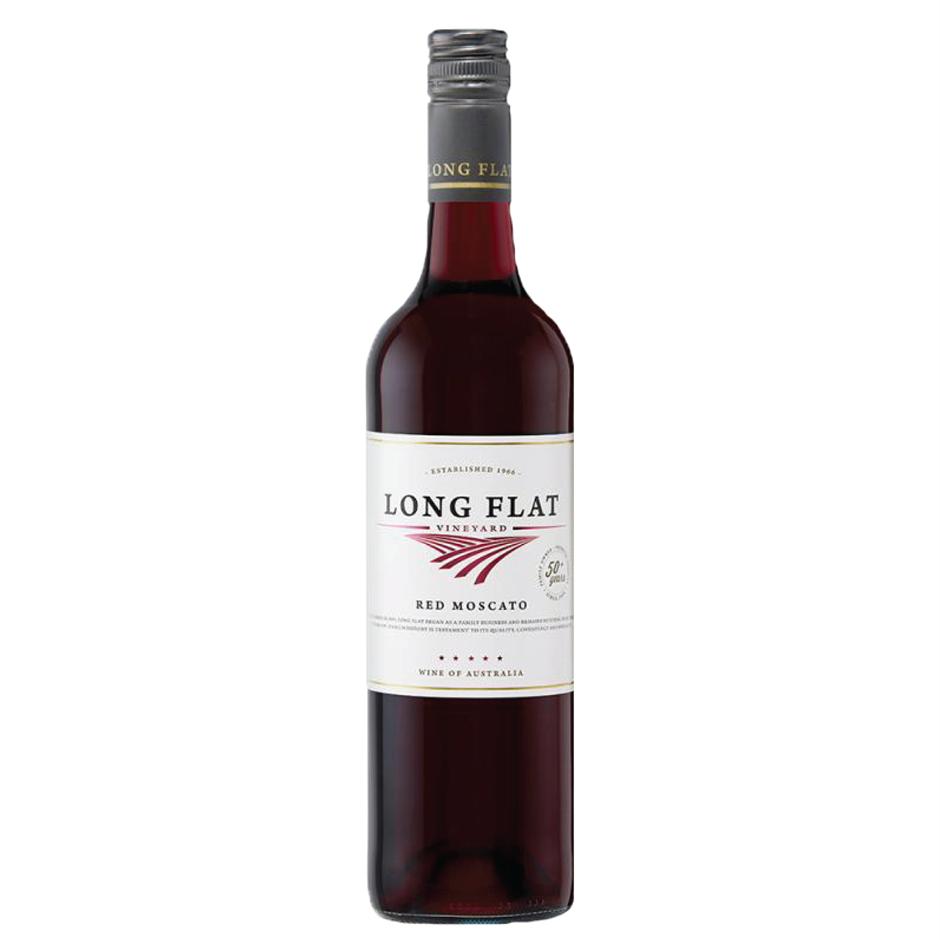 Long Flat Red Moscato NV (12x 750mL).
